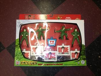 2002 Brainwave Hasbro TV Toys GI Joe Party Lights Set of 10 Pieces  #BW-0